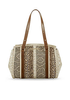 Brahmin Oleta Collection Small Alice Satchel Bag