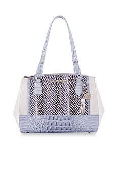 Brahmin Monroe Collection Duxbury Satchel