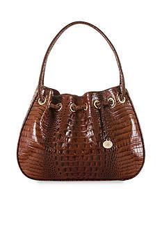 Brahmin Melbourne Collection Amy Drawstring Shoulder Bag