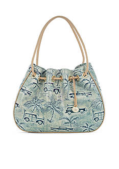 Brahmin Copa Cabana Collection Amy Drawstring Bag