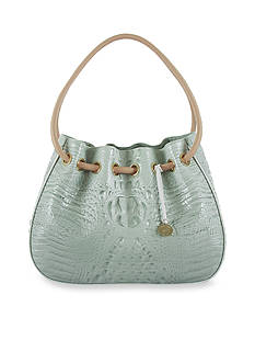 Brahmin Tricolor Collection Amy Drawstring Bag