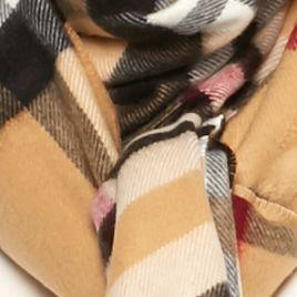 V Fraas Handbags & Accessories Sale: Camel V Fraas Exploded Plaid Scarf