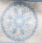 V Fraas Handbags & Accessories Sale: Blue V Fraas Folkloric Jacquard Scarf