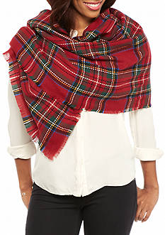 V Fraas Traditional Tartan Blanket Wrap
