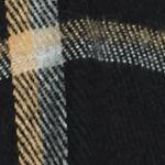 Handbags & Accessories: Cold Weather Sale: Black V Fraas Bi-Color Window Pane Ruana