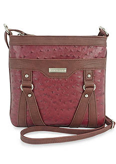 New Directions® Holly Ostrich Crossbody Bag