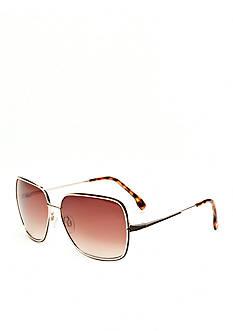 Jessica Simpson Glam Chain Frame Sunglasses