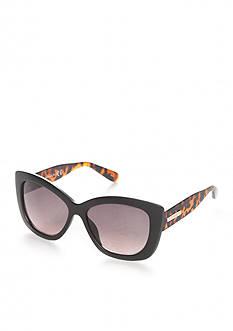 Tahari Oversized Cateye Glam Sunglasses