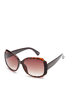 Tahari Glam Rectangle Sunglasses