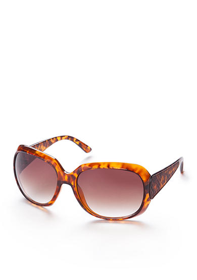 Tahari Oval Glam Sunglasses