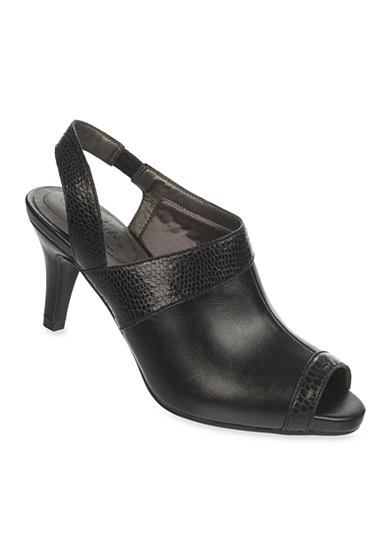 LifeStride Tao Peep-Toe Slingback with SoftSystem®