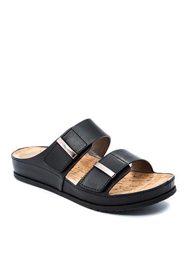 Women S Black Slides Shoes Belk