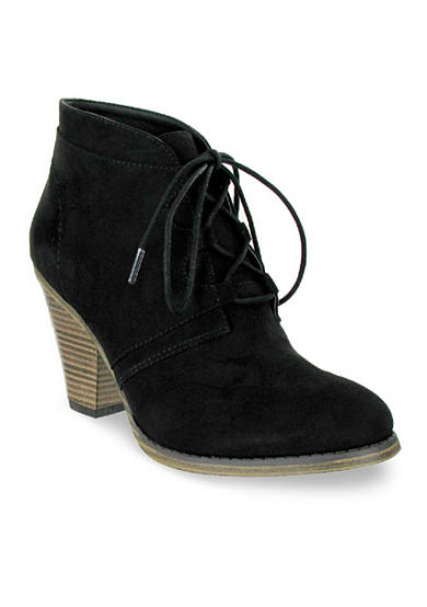 MIA Fianna Lace Up Booties
