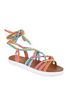 MIA Florentina Ankle Tie Flat Sandal