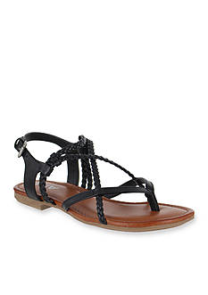 MIA Dannie Braided Flat Sandal