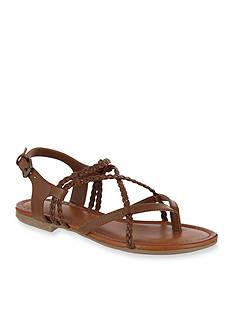 MIA Dannie Braided Flat Sandal