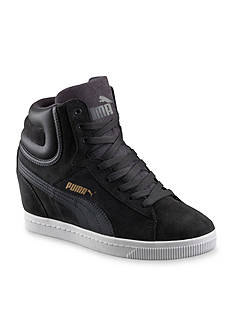 PUMA Women's Vikky Wedge Hi-Top Sneakers