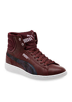 PUMA Women' s Vikky Mid Soft Foam Scratch Sneakers