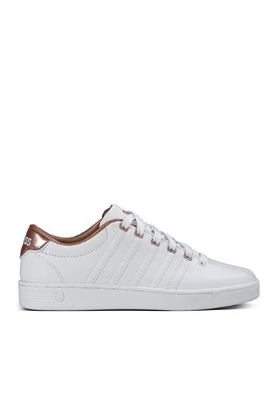 K-Swiss Women's Court Pro II Metallic Sneaker