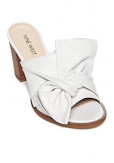 Nine West Bryon Soft Knotted Slide Sandal - Available in Extended Sizes