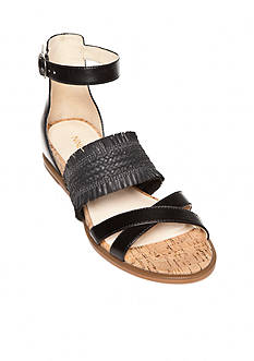 Nine West Vernell Fray Sandal - Available in Extended Sizes