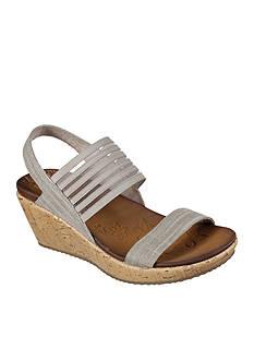Skechers Smitten Kitten Cali Wedge Sandal