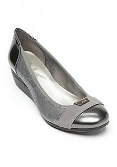 Anne Klein Birta Captoe Wedge Shoes