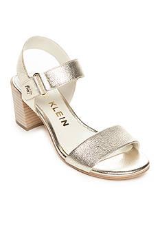 Anne Klein Jackie Block Heel Sandals