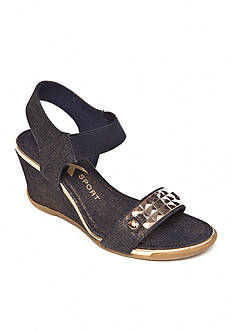 Anne Klein Latasha Stretch Wedges- Available in Extended Sizes