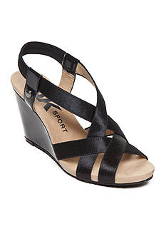 Anne Klein Tamryn Wedge Sandal - Available in Extended Sizes