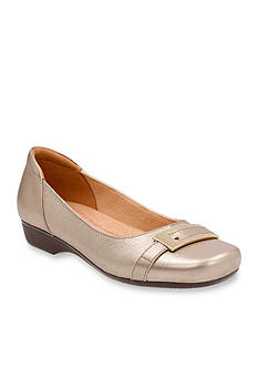 Clarks Blanche West Flat - Available in Extended Sizes
