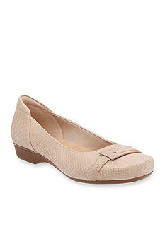 Clarks Blanche West Flats - Available in Extended Sizes