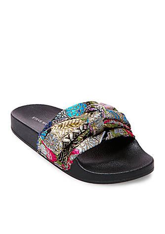 Steve Madden Silky Bow Slide Sandal Belk