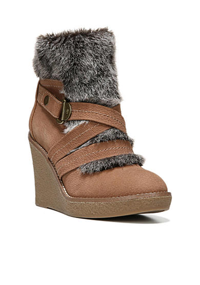 Fergie Omega Wedge Bootie