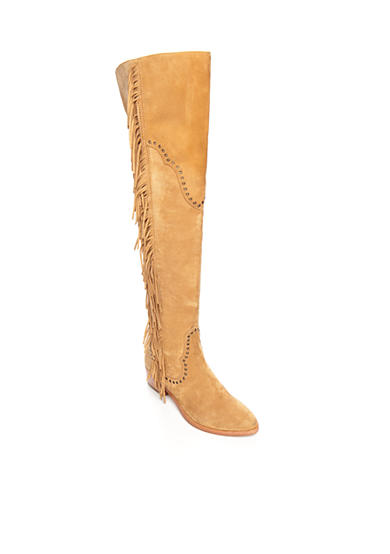 Frye Ray Fringe Over the Knee Boot