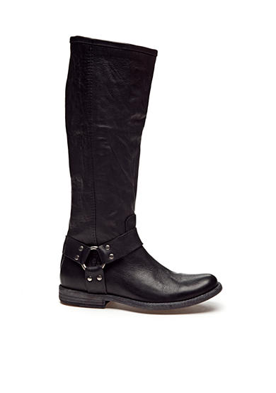 Frye Phillip Harness Tall Boot - Online Only - Wide Calf Available
