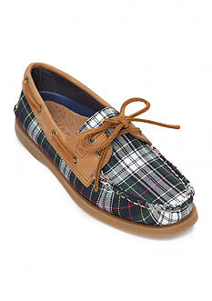Sperry® A/O 2-Eye Plaid Boat Shoe