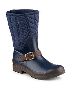 Sperry® Walker Gray Rope Rain Boot