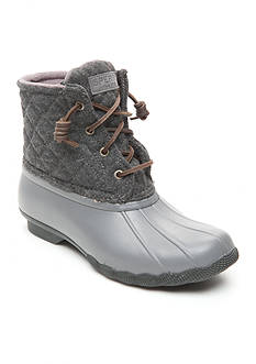 Sperry® Saltwater Quilt Wool Duck Boot