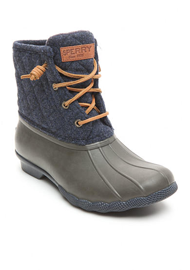 Sperry® Saltwater Quilt Wool Duck Boots