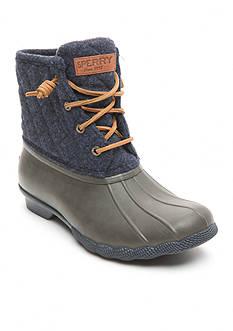 Sperry Saltwater Quilt Wool Duck Boots
