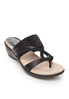 Kim Rogers® Penney Wedge Sandals