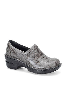 b.ø.c. Norda Grey Tooled Clog