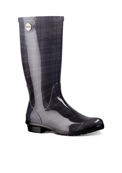 UGG® Australia Shaye Plaid Tall Rainboot