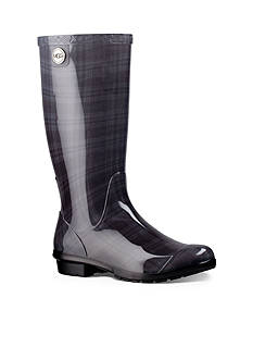 UGG Australia Shaye Plaid Tall Rainboot