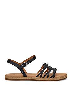 UGG Australia Larisa Wovern Flat Sandals