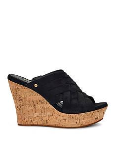 UGG Australia Marta Cork Wedge Sandals