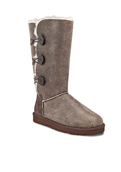 UGG® Australia Bailey Button Triplet Bomber Boot