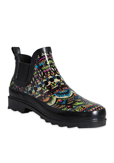 Sakroots Rhyme Rain Ankle Bootie