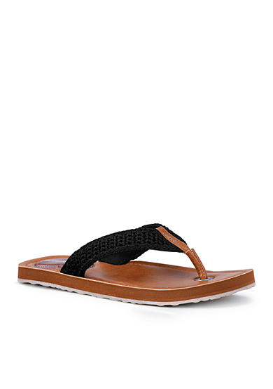 Sakroots Sheena Crochet Thong Sandals